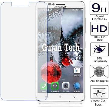 Guran® Protector de Pantalla Vidrio Cristal Templado Para Lenovo ...
