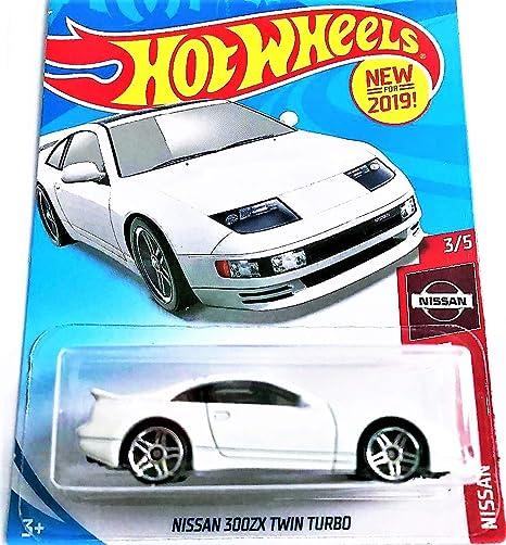 Amazon.com: Hot Wheels 2019 Nissan 3/5 - Nissan ZX Twin Turbo (White): Toys & Games