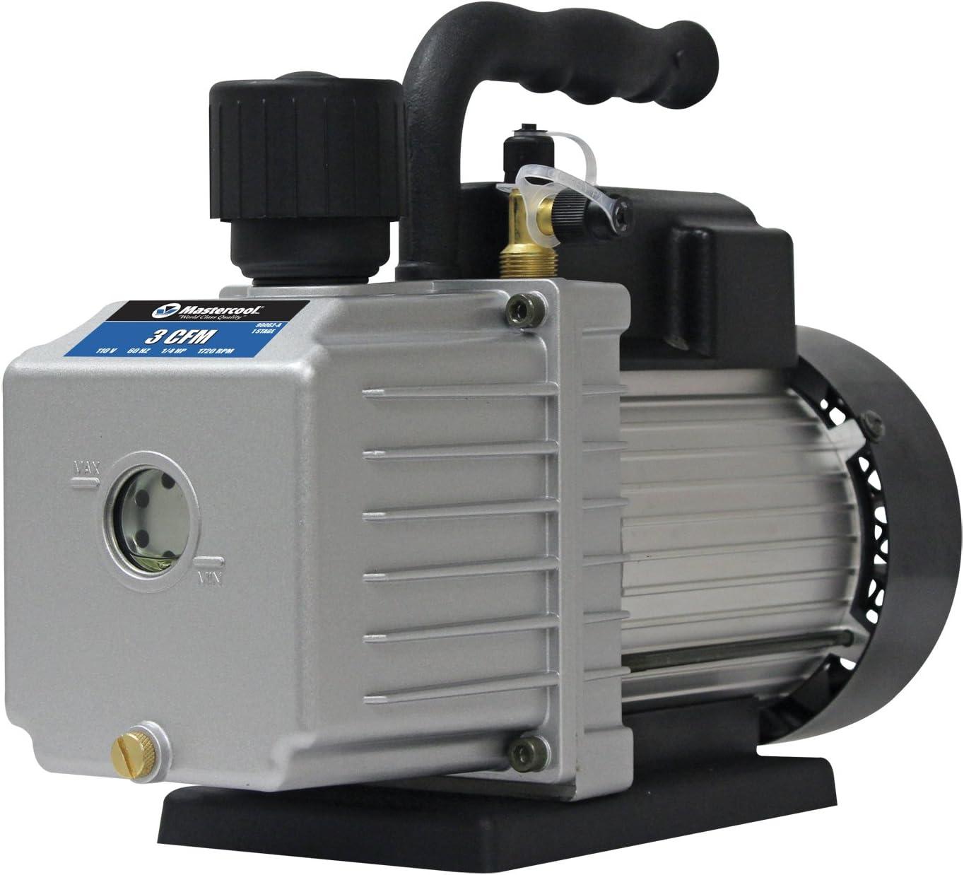 MASTERCOOL (90062-A Silver 3.0 CFM Vacuum Pump