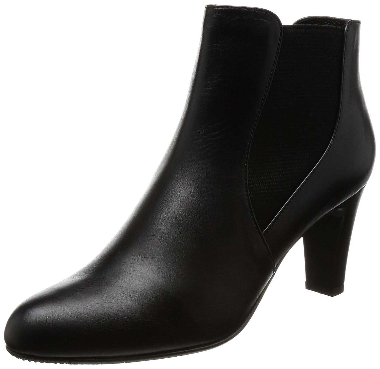 [リズラフィーネ] ブーツ サイドゴア RRSO60177 B073CS2XBD 23.0 cm 2E|ブラック ブラック 23.0 cm 2E