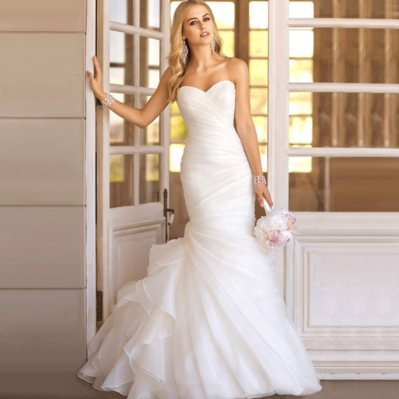 7af760582a68 Most Beautiful Mermaid Wedding Dresses