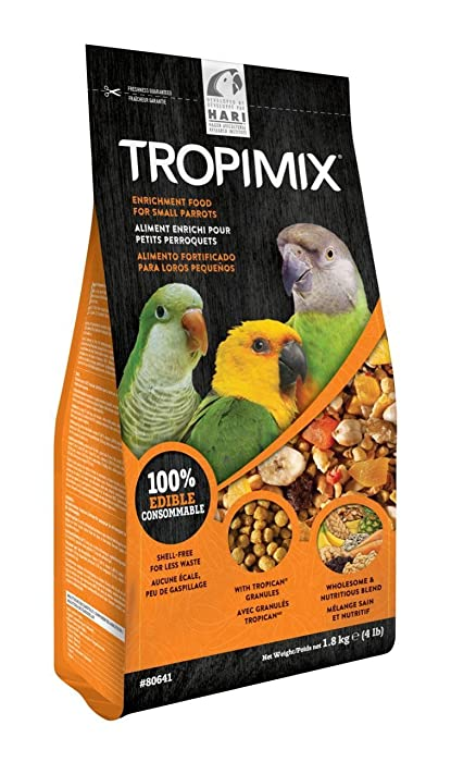 HARI Tropimix Premium Enrichment Food For Small Parrots