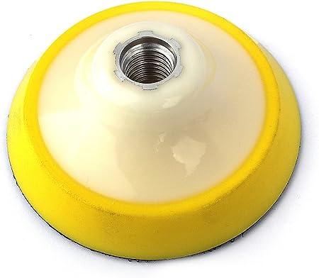"Stadea Rubber Backing Pad 4/"" Extra Flexible Backer Pad Hook Loop Backer 5//8/"" 11"