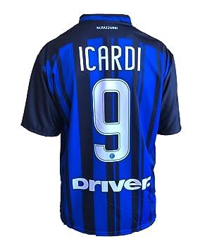 Camiseta de fútbol Inter Icardi,réplica autorizada de la