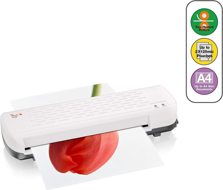 Peach PL707 Plastificatrice a caldo 250mm//min Bianco plastificatrice