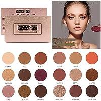 Niome 18 Colors Eyeshadow Palette Matte Glitter Matallic Eye Shadow Somkey Powder Blush Pro Makeup Set Beauty