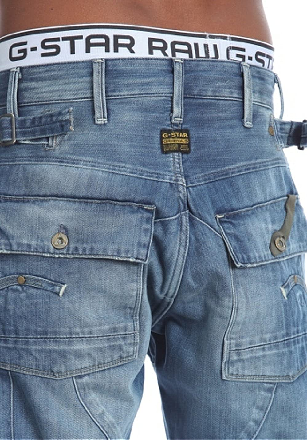 d1de10cbe0f G-STAR Herren Loose Jeans Trail 5620 Loose, denim, Gr. 30/32: Amazon.de:  Bekleidung