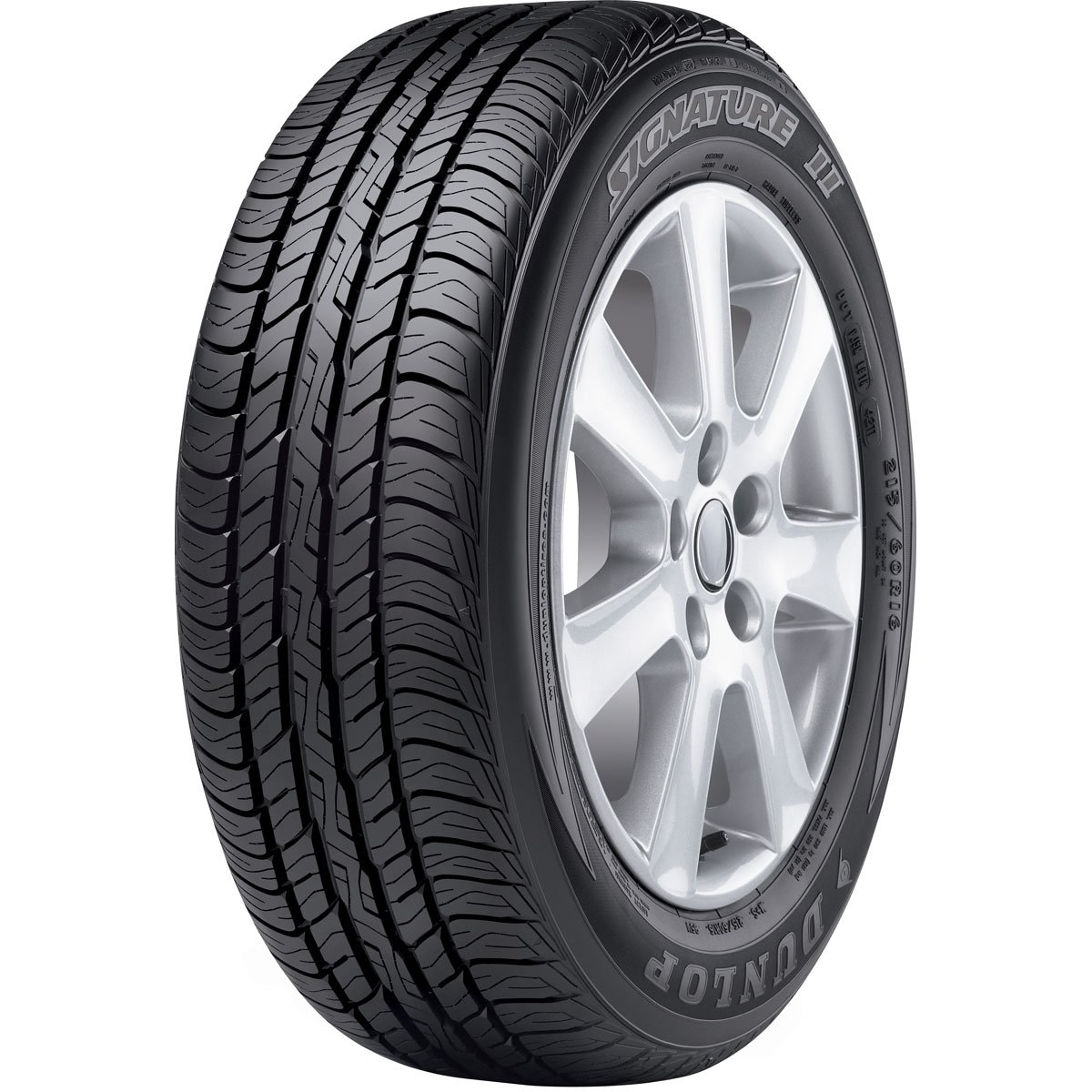 Dunlop Signature II P185/65R14 86T BW Tire 266004822 by Dunlop (Image #2)