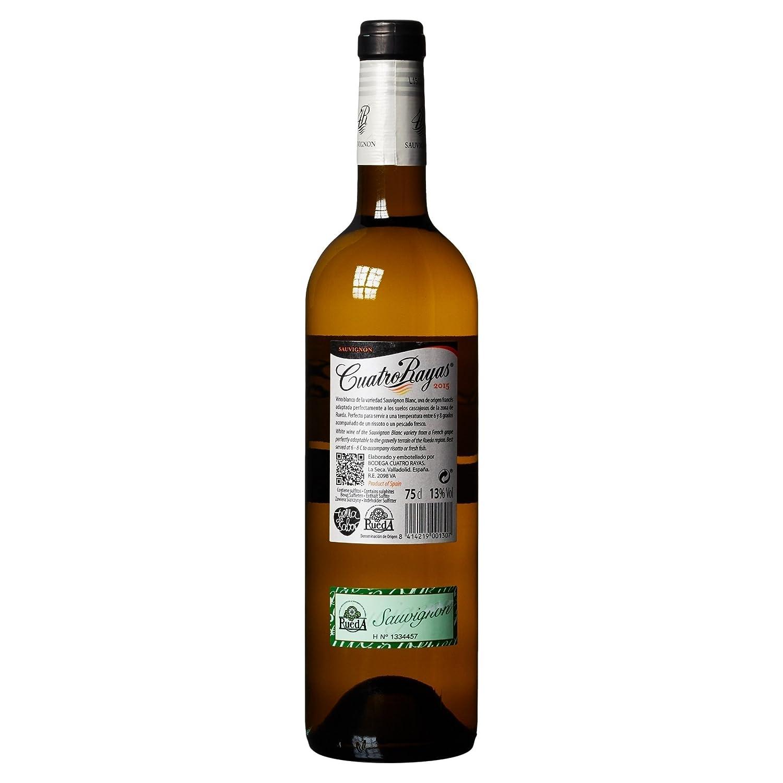 4 Rayas - Vino Sauvignon 75 cl: Amazon.es: Alimentación y ...