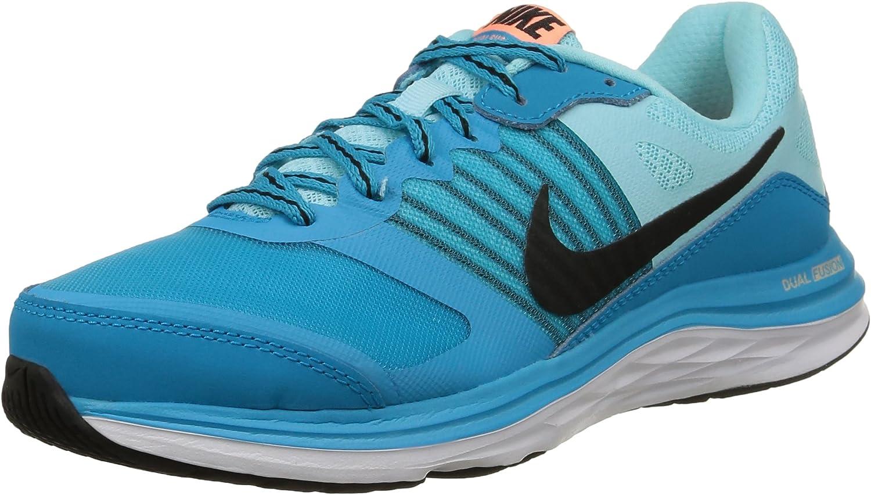 Nike Wmns Dual Fusion X - para Hombre, Blue Lagoon/Black-CP-snst GLW, Talla 36: Amazon.es: Zapatos y complementos