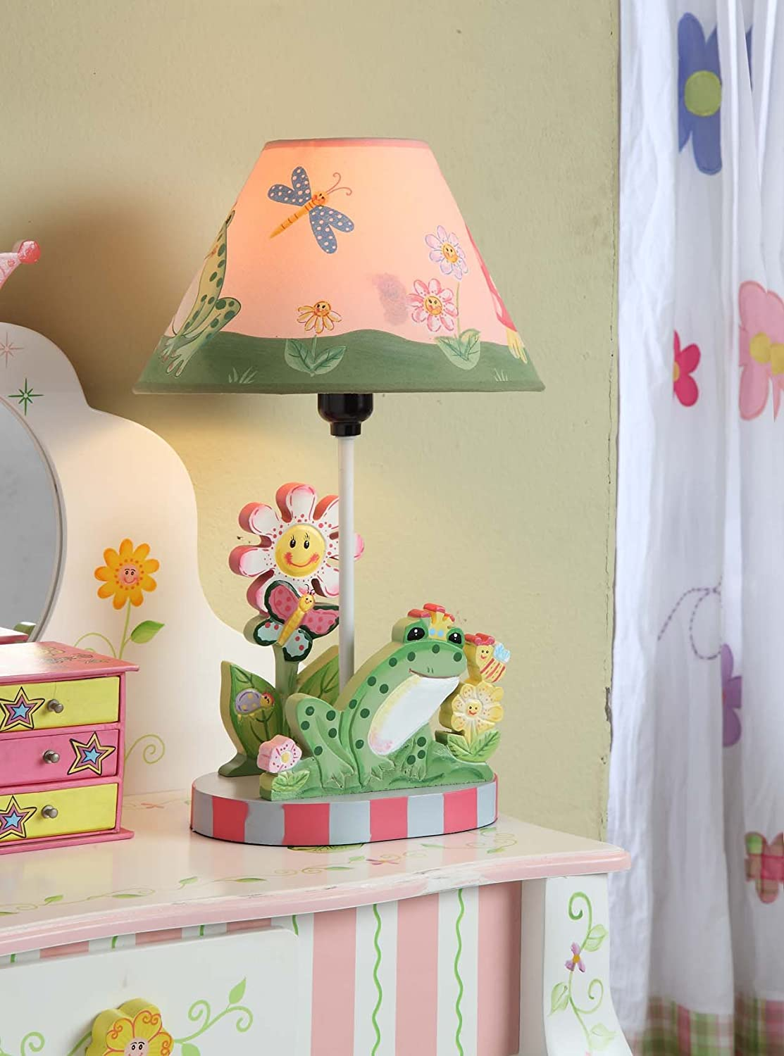 Amazon fantasy fields magic garden thematic kids table lamp amazon fantasy fields magic garden thematic kids table lamp imagination inspiring hand painted details non toxic lead free water based paint toys geotapseo Gallery