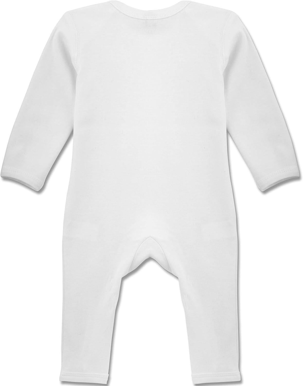 Im Cute Mom is hot Dad is Lucky Shirtracer Strampler Motive Baby-Body Langarm f/ür Jungen und M/ädchen