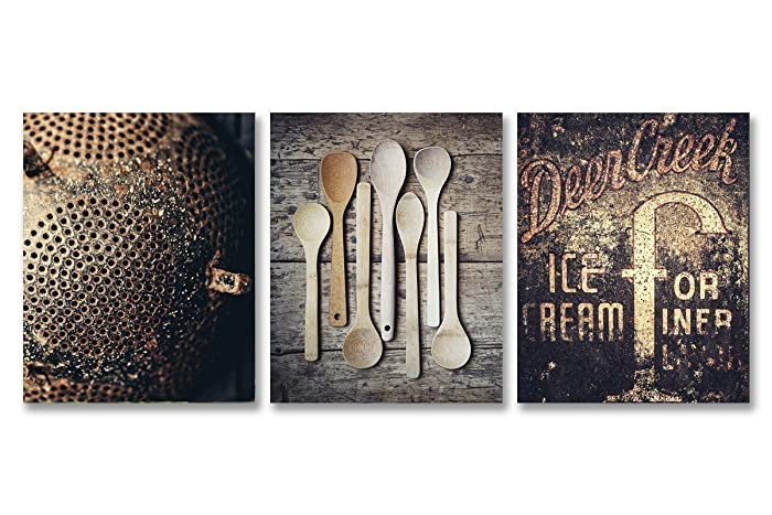 Amazon.com: Rustic Kitchen Decor - Discount - Country Kitchen Decor ...