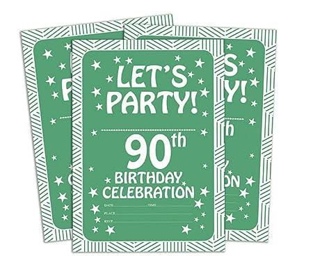 Darling Souvenir Tarjeta de cumpleaños Invitación Verde ...