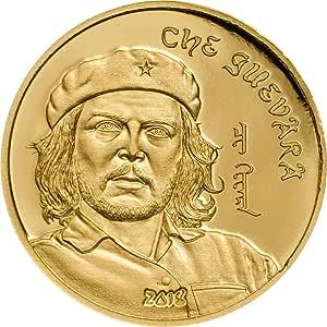 Power Coin CHE Guevara Ernesto Serna Cuba Argentina Moneda Oro ...