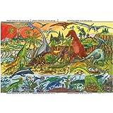 Bigjigs Toys Dinosaur Floor Puzzle (96 Piece)