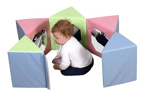 Children s Factory Multi-Image Mirror Pentagon – Pastel