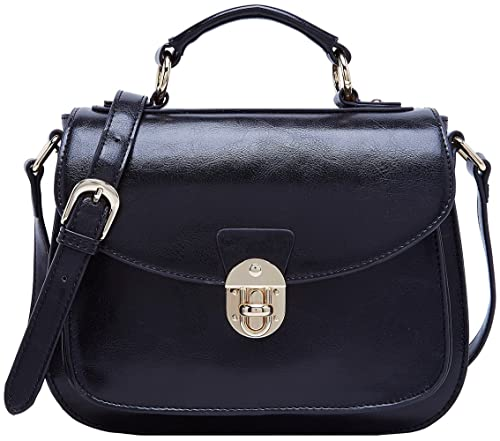 BOYATU Women Leather Handbags Ladies Retro Vintage Messenger Bags Cross  Body Bag  Amazon.co.uk  Shoes   Bags 309b31ff7d9e9