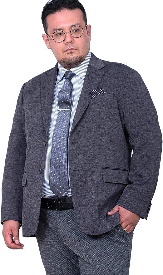 SARTORIA BELLINI ニット ストレッチ テーラード ジャケット azjw3220-s1 大きいサイズ メンズ