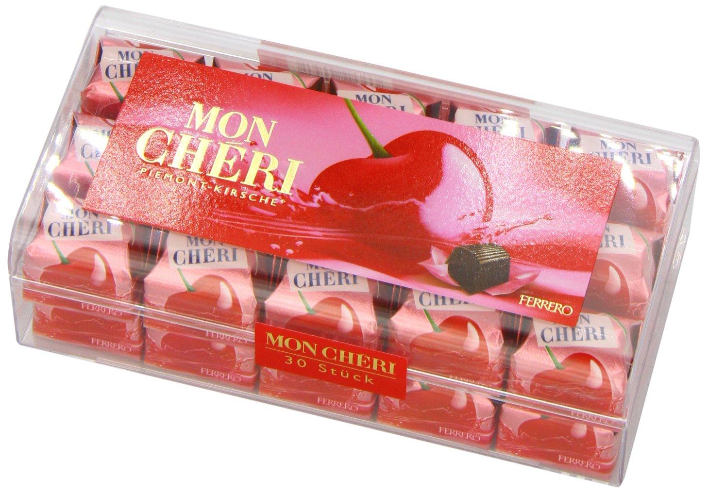 Amazon.com : Mon Cheri Pralines Piemont Cherry, 60 Pieces : Candy ...