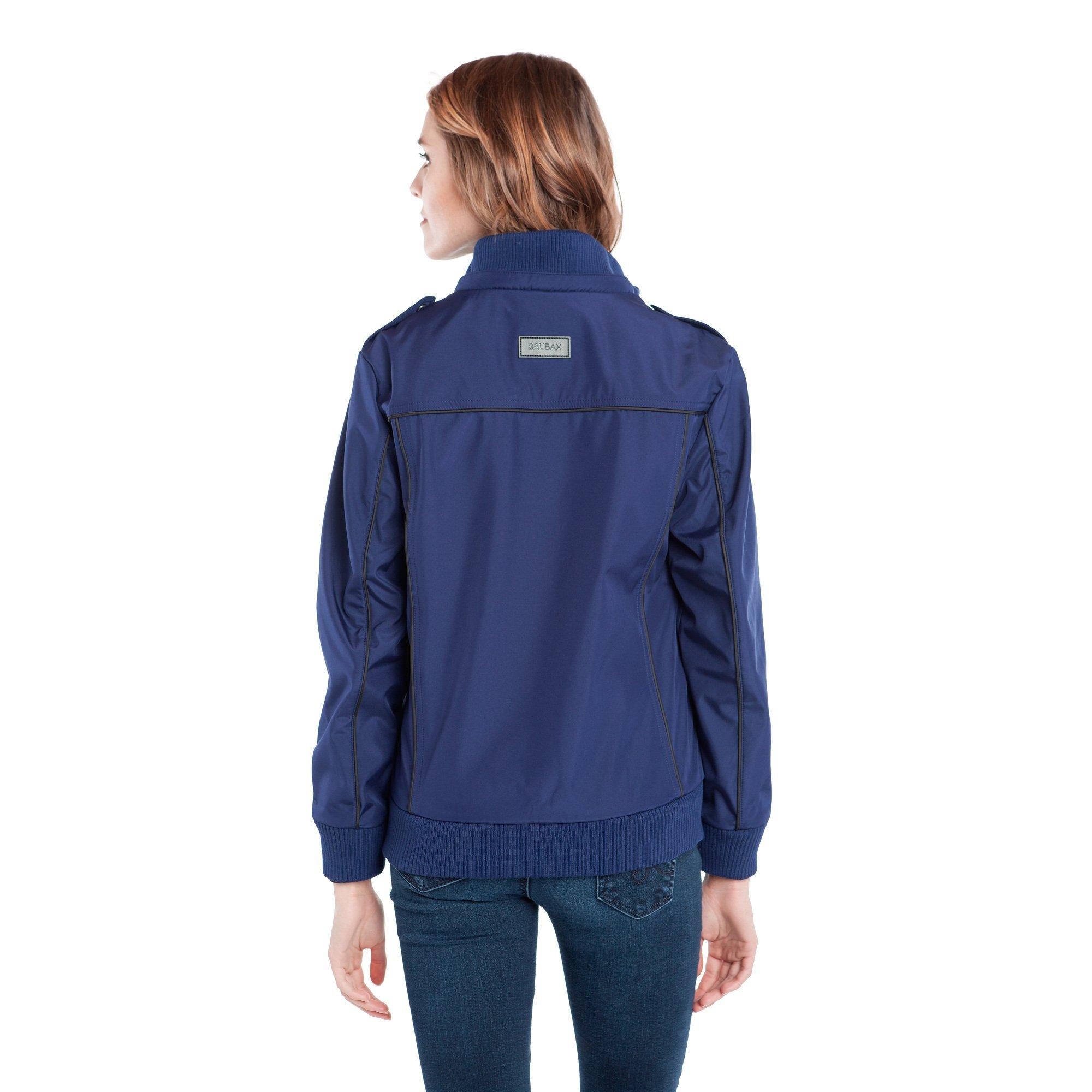 Baubax Travel Jacket - Bomber - Female - Blue - Large by Baubax (Image #3)