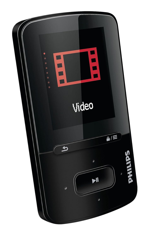 Philips Gogear SA4VBE04KN/12 Vibe 4GB MP4/MP3 Video Player: Amazon.co.uk:  Audio & HiFi