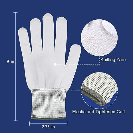 LED blinkende Bunte Finger Gloves Spielzeuge als Geschenke zu Weihnachten Geburtstag gl/änzende Handschuhe Leuchtende Handschuhe Rapoyo LED Handschuhe f/ür Kinder