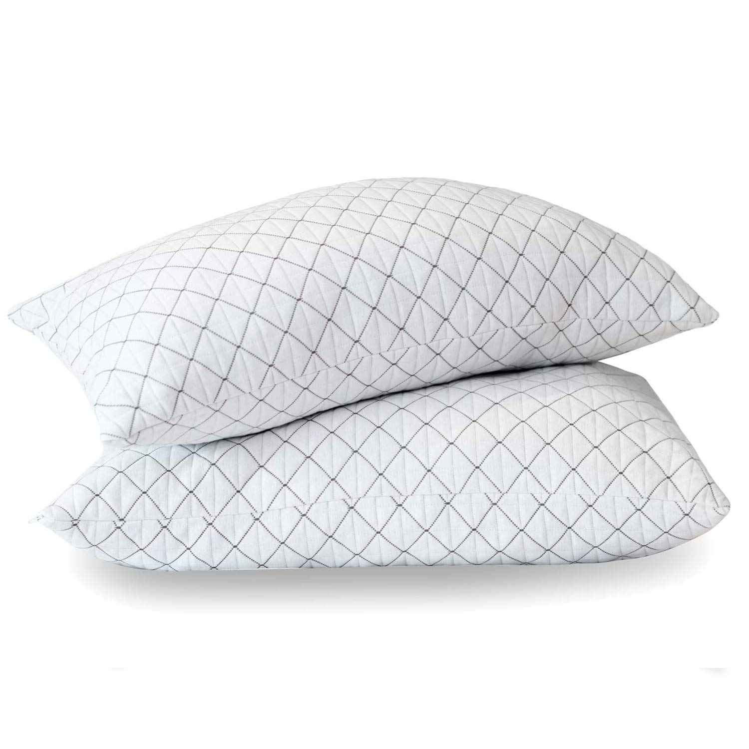 High Comfort King Size White Bamboo Pillow  W