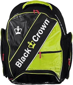 Mochila padel Black Crown Sack (Amarillo): Amazon.es: Deportes y ...
