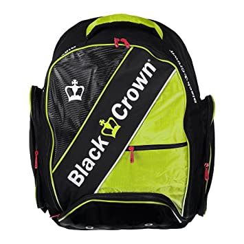 Mochila padel Black Crown Sack (Amarillo): Amazon.es: Deportes y aire libre