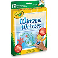 Crayola 56-9704 Washable Window Markers, Craft Supplies, Drawing Gift for Boys and Girls, Kids, Teens Ages 5, 6,7, 8 and…