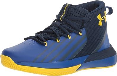 Under Armour Grade School Lockdown 3 Chaussures de Basketball gar/çon