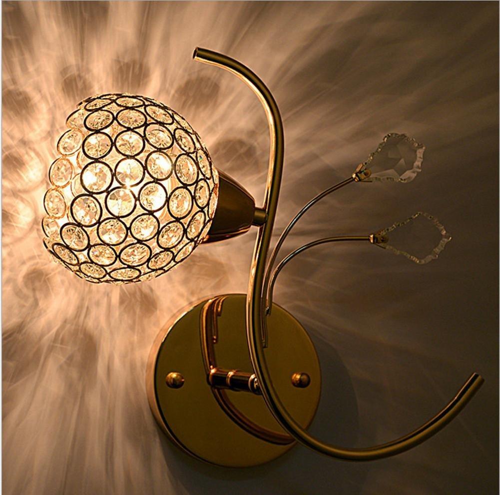 Kitzen Modernes Luxux- und elegante LED Einkopf-Goldwand-Lampen-Wohnzimmer-Schlafzimmer(Ohne Licht) High quality