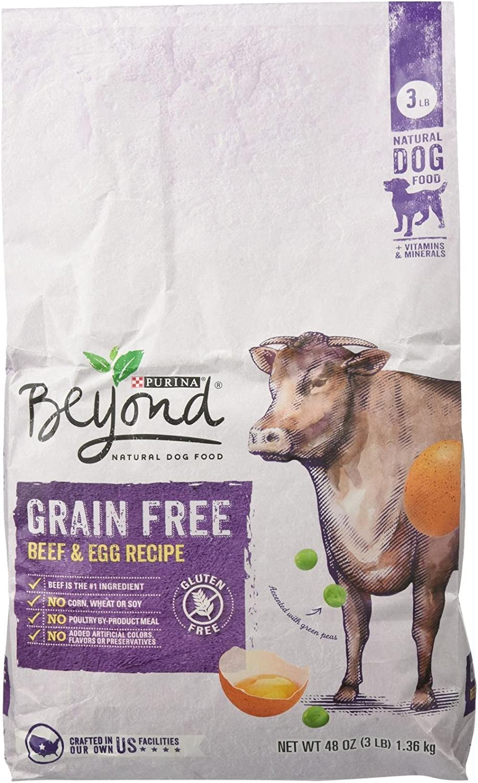 Purina Beyond Grain Free Natural Dry Dog Food - Beef And Egg, 3 Lb