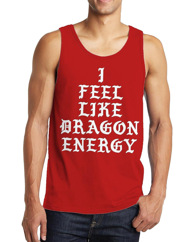 SpiritForged Apparel I Feel Like Dragon Energy Mens Tank Top
