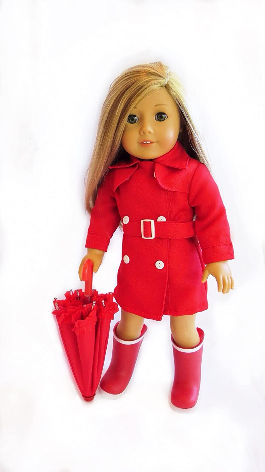 raincoat for American Girl Dolls