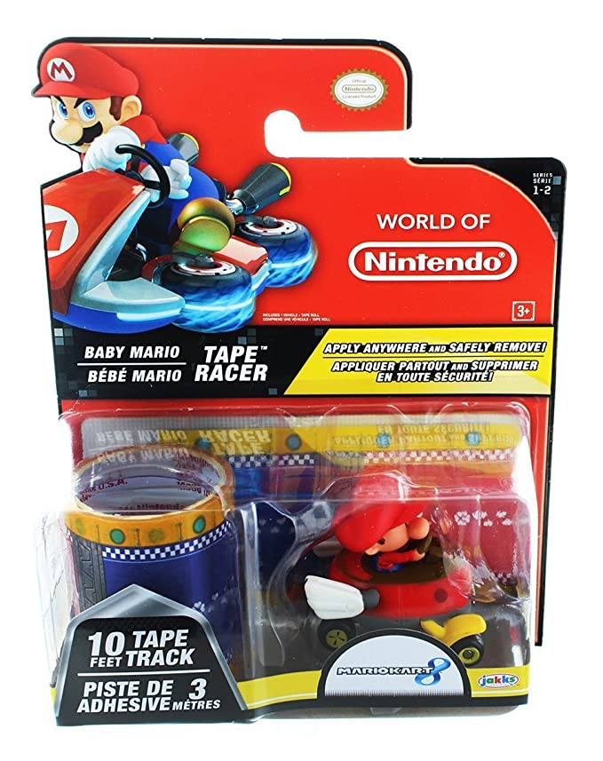 Amazon.com: World of Nintendo Baby Mario cinta Racer ...