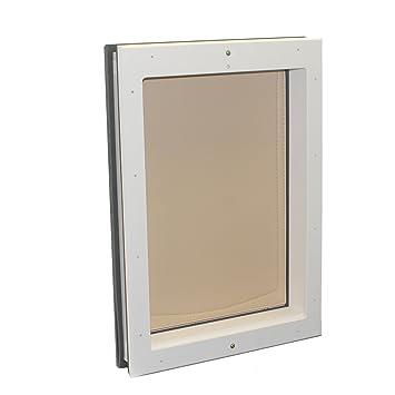 Freedom Pet Pass Door Mounted Energy Efficient, Extreme Weather Dog Door  With Insulated