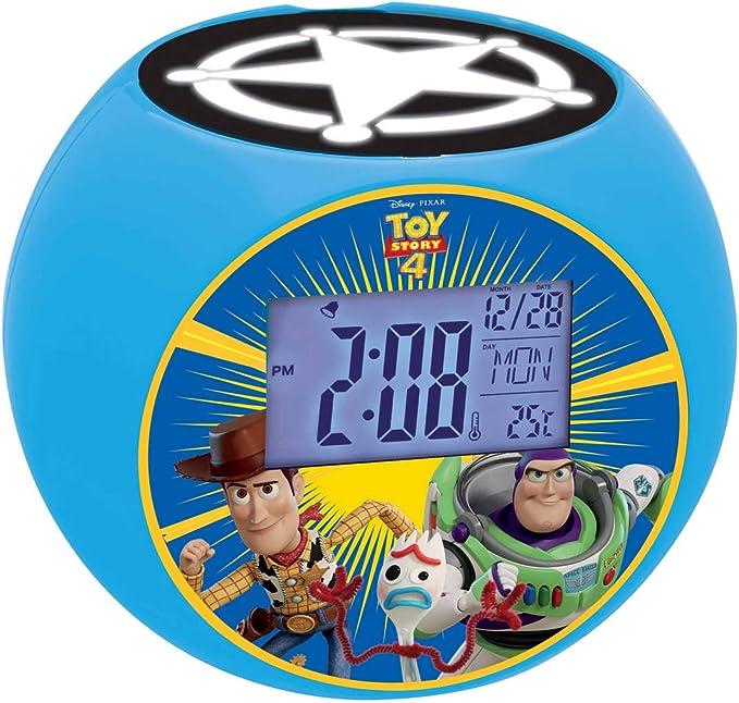 Amazon.es: LEXIBOOK, hor Disney Toy Story Woody & Buzz-Radio ...