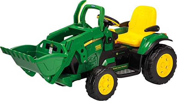 Kindertraktor mit Motor Bestseller - John Deere Ground Loader