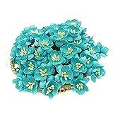 NAVA CHIANGMAI FLOWERS 50 Pcs Blue Cherry Blossom