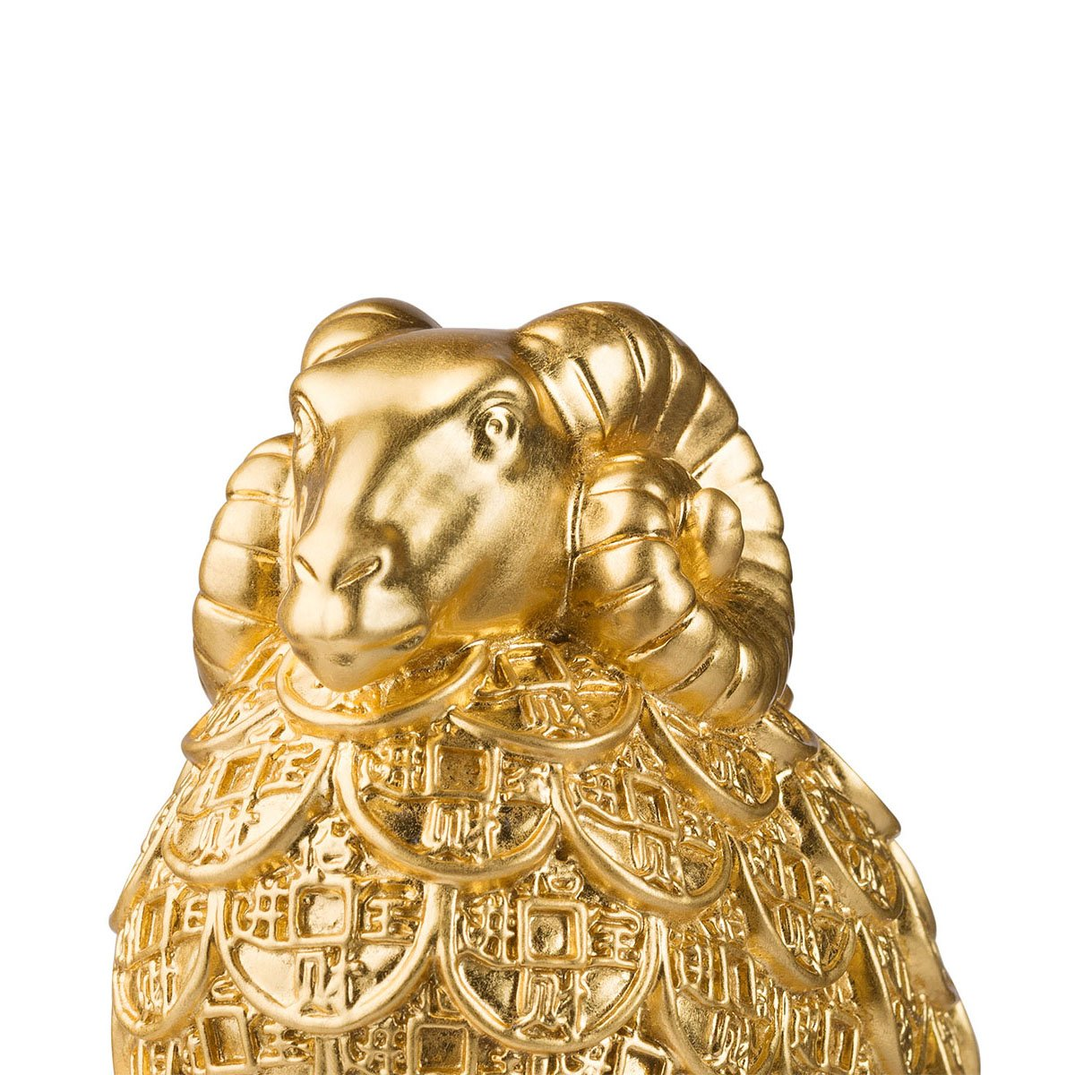brassmaster fortuna Golden ovejas Estatua Artware Furnishing ...