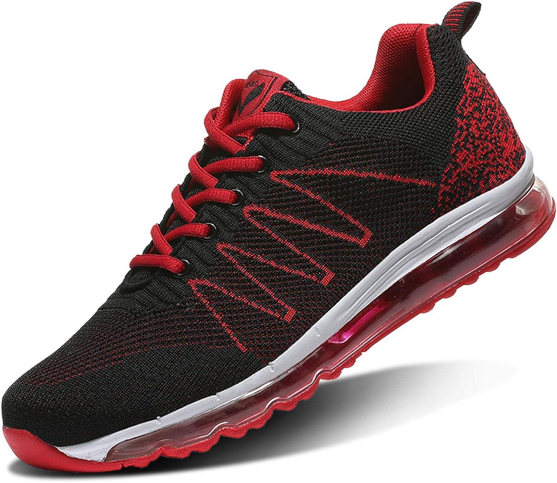 Zapatillas de Running Hombre Calzados para Correr en Asfalto Deporte Sport Casual Sneakers 36-45EU