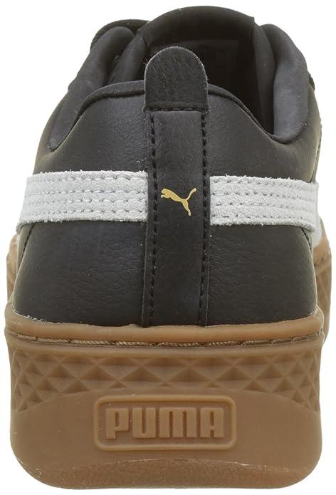 Amazon.com | Puma Womens Smash Platform L Trainers, Puma Black-Puma White, 8.5 UK | Fashion Sneakers