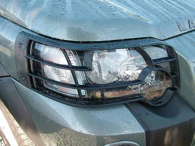 Chrome Fog Lamp bezel surrounds for Land Rover Freelander 1 2004-07 facelift Td4
