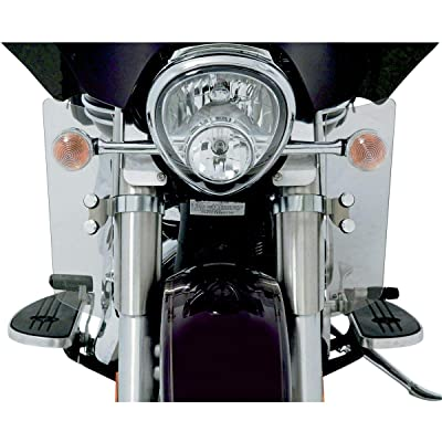 Memphis Shades Fork Deflectors (Polished) for 04-09 Yamaha XVS11A: Automotive
