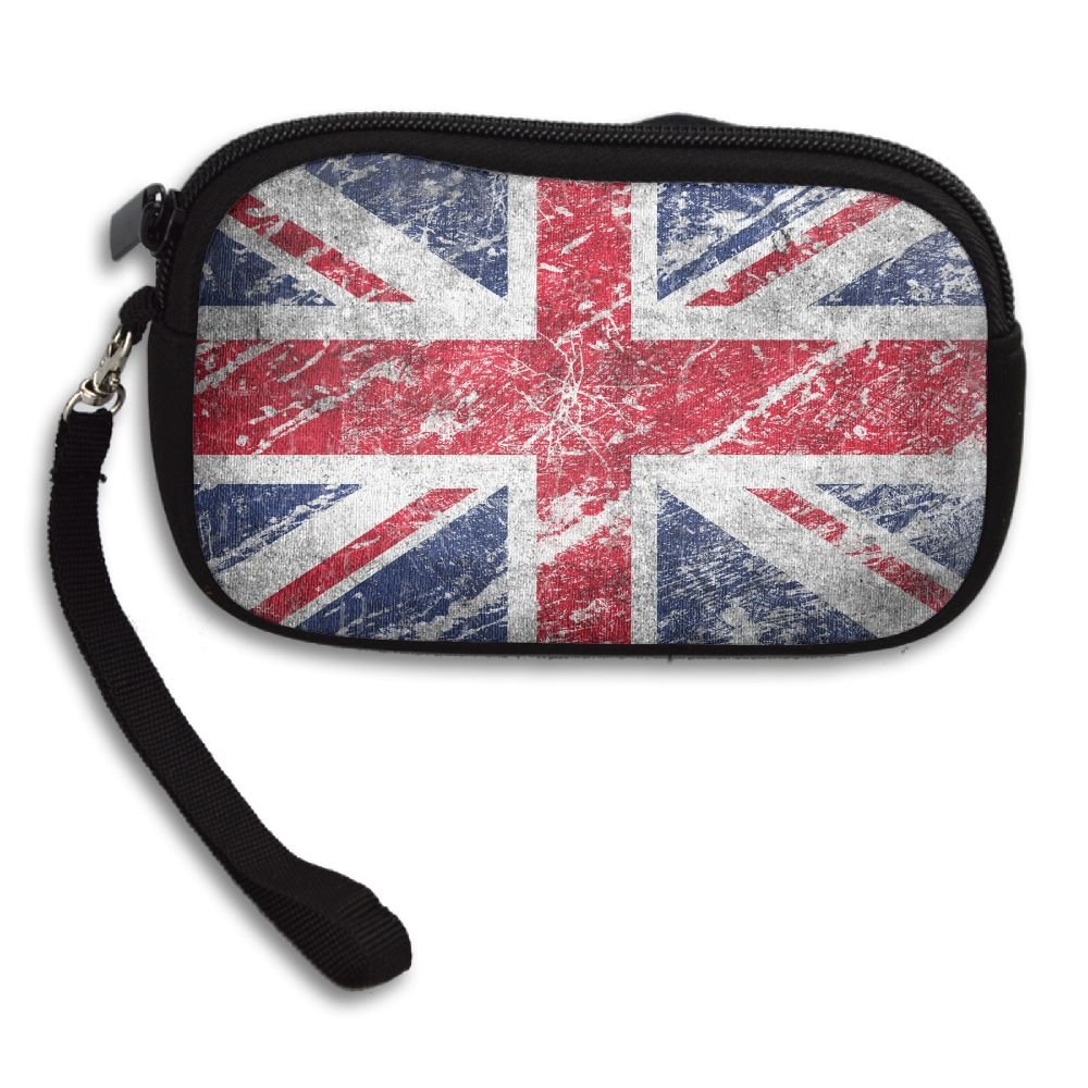 British Flag Deluxe Printing Small Purse Portable Receiving Bag