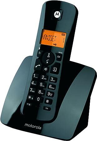 Motorola C401 - Teléfono Inalámbrico, color negro: Motorola: Amazon.es: Electrónica