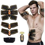Muskelstimulator, Elektrostimulation MuskelTrainer EMS Gerät EMS TrainingSgerät Fitness Bauch Einfache Fitness Leicht zu tragen für Männer Frauen Geschenk