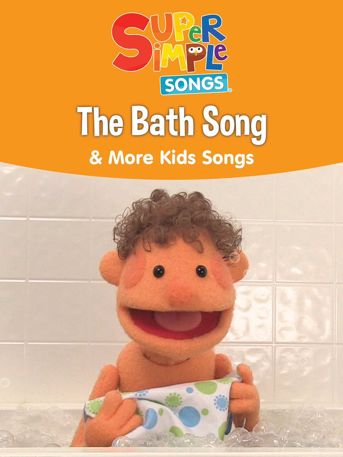 Amazoncom Watch The Bath Song More Kids Songs Super Simple